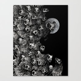 Mounting Fear Canvas Print