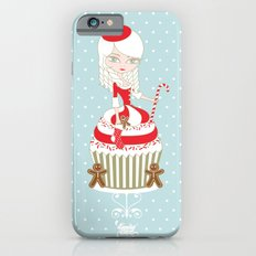 Merry Lady Christmas Cupcake Slim Case iPhone 6s