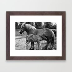 Mother and Child no.1 Framed Art Print