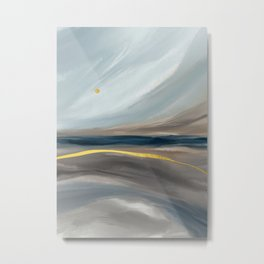 Sea dunes Metal Print