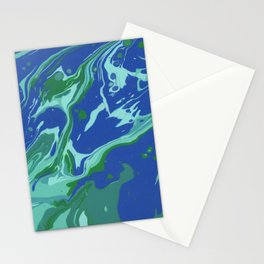 Paint Pouring 38 Stationery Cards