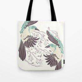 Birds of Summer Tote Bag