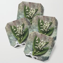 Beautiful Lily Of The Valley Coaster