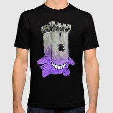 Castle Gengar Mens Fitted Tee Black X-LARGE