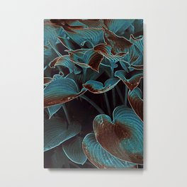 BLUE FIELDS Metal Print