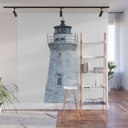 Lighthouse Illustration Wall Mural