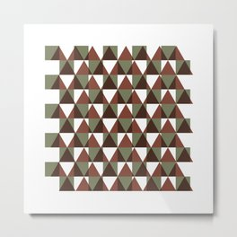 #350 Interference – Geometry Daily Metal Print