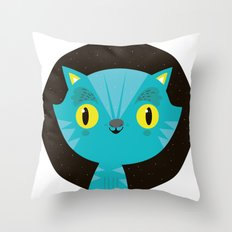 Gatito Throw Pillow