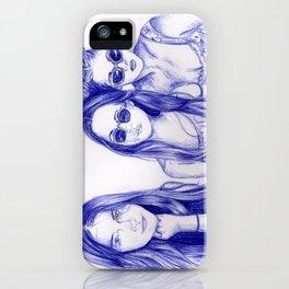 Haim Sisters iPhone Case