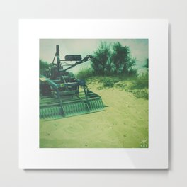 strange vehicle Metal Print