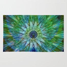 Beautiful as a peacock Rug