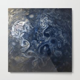 Jupiter Canvas Metal Print