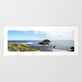Phillip Island View. Art Print