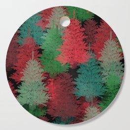Christmas Tree Folly Cutting Board