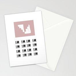 i am Stationery Cards