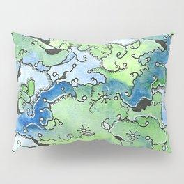 Pond Scum Pillow Sham