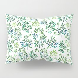 """""""Watercolor forest"""" Pillow Sham"""
