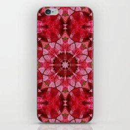 Cranberrybush Viburnum mandala iPhone Skin