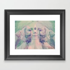 KALEIDOSCOPIC DREAMS Framed Art Print