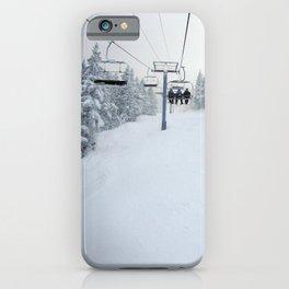 Skiing Vermont iPhone Case