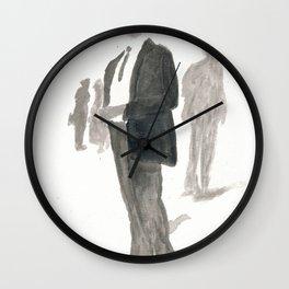 A Dapper Man Wall Clock