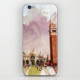 the Piazza iPhone Skin