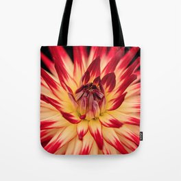 Flower red Tote Bag