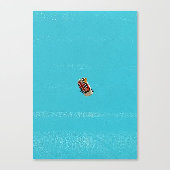 Who's Turn To Drive? Election '17 Canvas Print