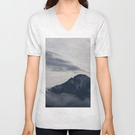 paradise over the mountain 2 Unisex V-Neck