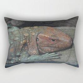 Northern Caiman Lizard Rectangular Pillow