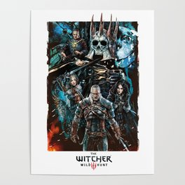 The Witcher Wild Hunt Poster