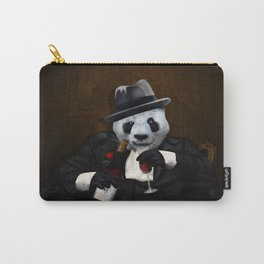PANDA with Tuxedo Carry-All Pouch