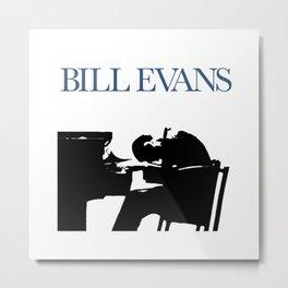 Bill Evans Metal Print