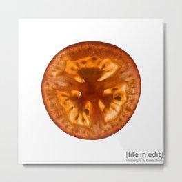 Tomato Metal Print