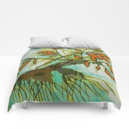 withered tree (original sold) Comforters