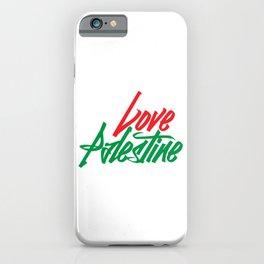 Love Palestine iPhone Case