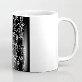 Gustav Mahler Conducts Caricature Coffee Mug
