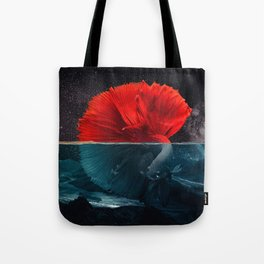Red Siamese Fighting by GEN Z Tote Bag