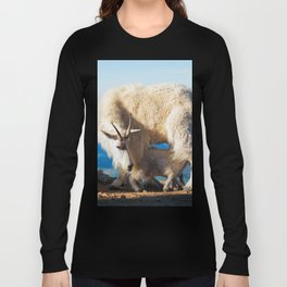 Mountain Goats Nanny And Kid Long Sleeve T-shirt