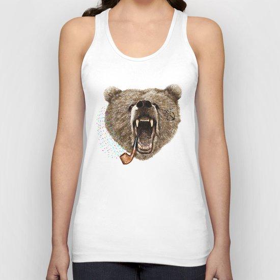 Angry Bear Unisex Tank Top
