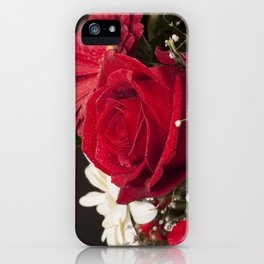 Red Bouquet iPhone Case