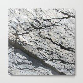 Strates géologiques / Geological strata Metal Print