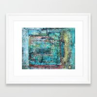 decorative Framed Art Prints featuring Decorative by Jean-François Dupuis
