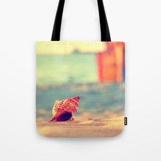 A summer at the beach Tote Bag