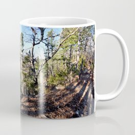 Climbing Up Sparrowhawk Mountain above the Illinois River, No. 1 of 8 Coffee Mug