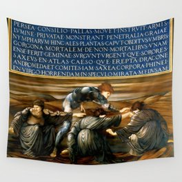 "Edward Burne-Jones ""Perseus and the Graiae"" (I) Wall Tapestry"