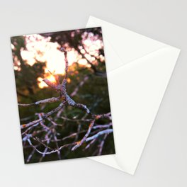 feel versus exist Stationery Cards
