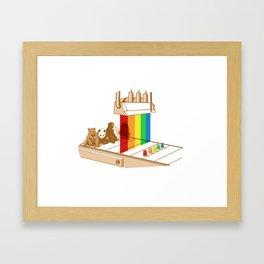 all natural Framed Art Print