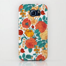 Vintage flower garden iPhone Case