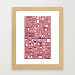 Vanity (sin 7) Framed Art Print